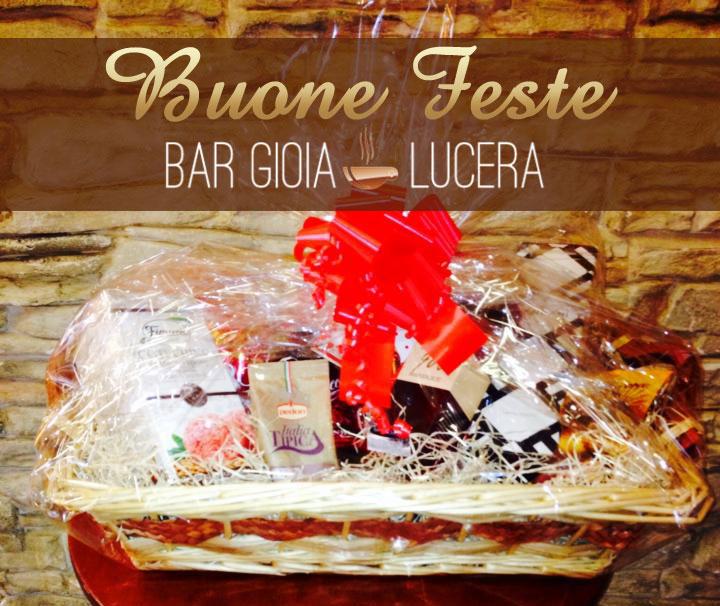 Il Bar Gioia di Lucera vi augura Buone Feste